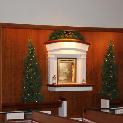 Click to view album: 2020, St. Matthew's Christmas Decorating