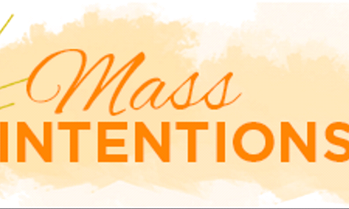 Mass & Sanctuary Lamp Intentions