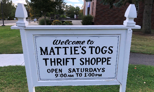 Mattie's Togs Thrift Shop Open by Appointment